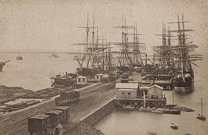 Gem Pier - rightRailway pier at Williamstown