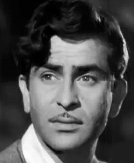 Raj Kapoor In Aah (1953)
