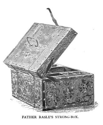 Thomas Westbrook - Westbrook retrieved Father Rale's strong box