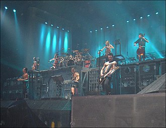 Apocalyptica - Apocalyptica performing with Rammstein in Milan in 2005