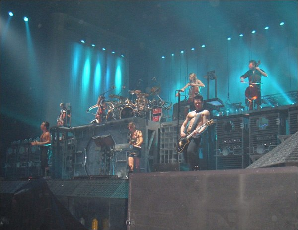 Rammstein and Apocalyptica concert - 2005