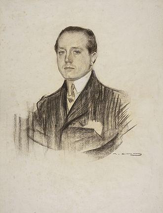 José Martínez Ruiz - Azorín seen by Ramon Casas (MNAC).