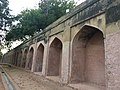 Rampart of Humayun's tomb.jpg