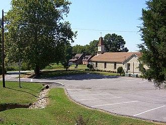 Randolph, Tennessee - Randolph United Methodist Church (2008)