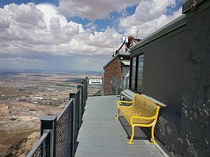 Wyler Aerial Tramway - Image: Ranger Peak