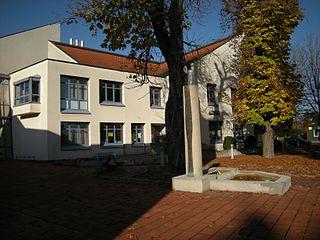 Senden Place in Bavaria, Germany