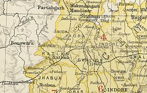 Ratlam State - Ratlam State in the Imperial Gazetteer of India