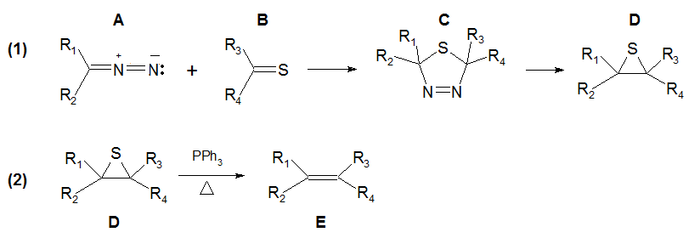Reacción de Barton-Kellogg reaction