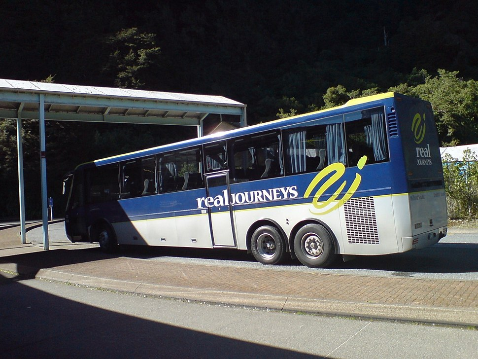 Real Journeys Milford Sound Bus