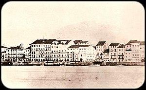 Politics of the Empire of Brazil - Recife, capital of Pernambuco province, 1865.