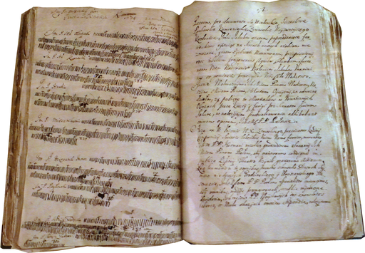 Record of the voting for pre-Sejm Sejmik's deputies in Proszowice, December 5, 1689