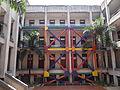 Refuerzo arquitectónico antisísmico .Palacio Municipal de Medellín. Museo de Antioquia..JPG