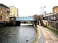 Regent's Canal, Cat and Mutton Bridge and Acton's Lock - geograph.org.uk - 1727977.jpg