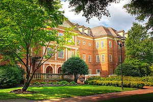 Regent University - Regent University - Robertson Hall, home to the School of Law and Robertson School of Government