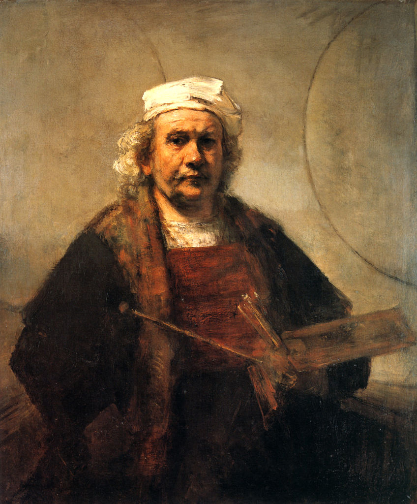 File Rembrandt Self Portrait With Two Circles Wikimedia Mons