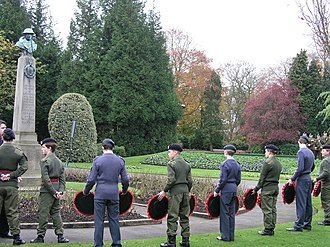 Community Cadet Forces - Cadets from the Air Training Corps and Army Cadet Force during Remembrance Sunday, 2006