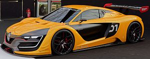 Renault Sport R.S. 01 - Image: Renault Sport RS 01 cropped