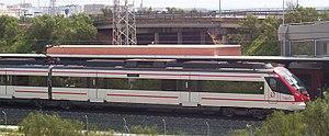 Renfe Operadora - A new Cercanías Civia unit near Puerto Real (Cádiz).