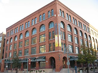 Historic Third Ward, Milwaukee - Image: Renovated warehouse, Milwaukee
