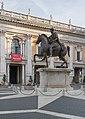 Replica of the Equestrian statue of Marcus Aurelius in Rome (3).jpg