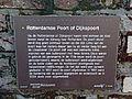 Restant Rotterdamse poort, info. Veerstal in Gouda.jpg