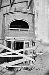 restauratie werkzaamheden aan het fundament van korenmolen de koe - ermelo - 20072289 - rce