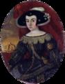 Retrato de D. Luísa de Gusmão. Autoria desconhecida, c. 1640-1660, Lisboa, MNAA, n.º inv. 191 Min.png
