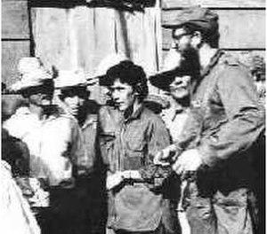 Celia Sánchez - Sánchez with Fidel Castro