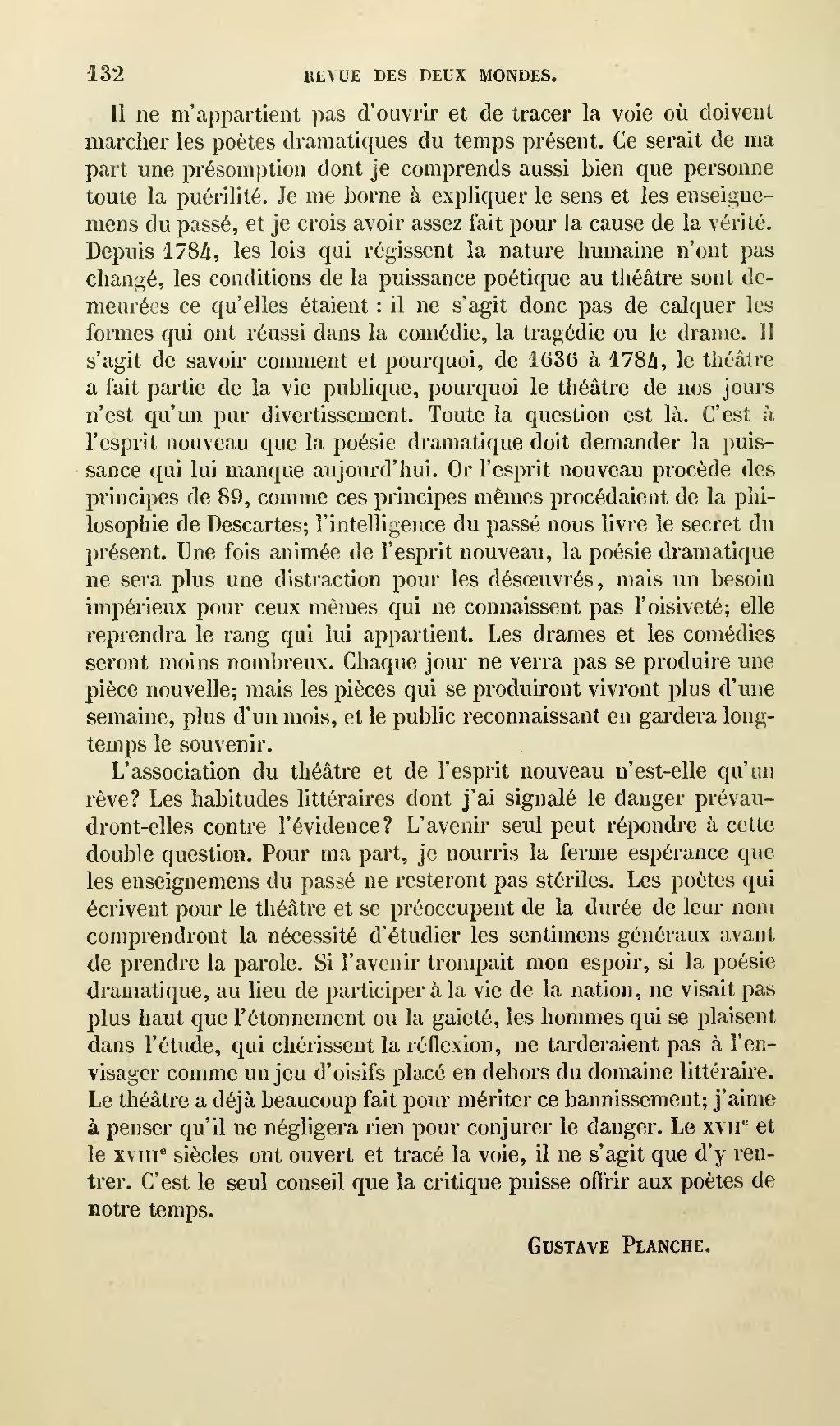 page revue des deux mondes - 1856  136