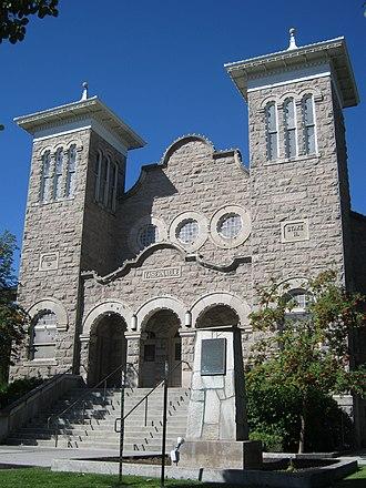 Rexburg Stake Tabernacle - Image: Rexburg Stake Tabernacle 1