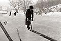 Rezanje ledu na Treh ribnikih v Mariboru 1957.jpg