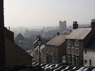 Richmond, North Yorkshire - View from Frenchgate