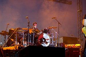 Rick Woolstenhulme Jr. - Woolstenhulme performing with Lifehouse in Norfolk, Nebraska in 2013