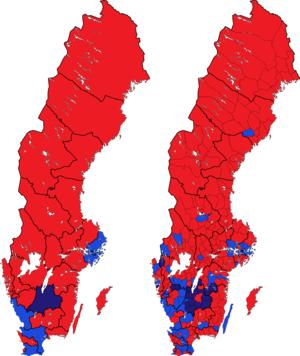 Rigsdagsvalget i Sverige 1998 i valgkredse og kommuner.png