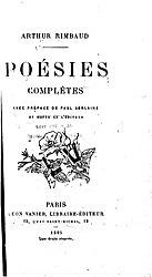 Arthur Rimbaud: Poésies complètes