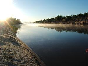 """Gualeguay River - Gualeguay River near """"Larroque"""""""