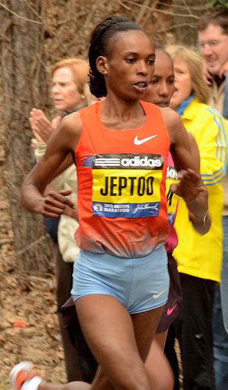 2013 Boston Marathon - Image: Rita jeptoo 2013 boston marathon