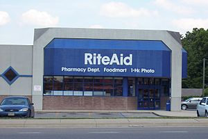 English: Self-made photo of the Rite Aid locat...