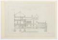 Ritningar. Hallwylska palatset - Hallwylska museet - 105192.tif