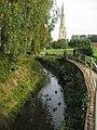 River Devon at Bottesford - geograph.org.uk - 614089.jpg