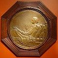Robert Louis Stevenson by Augustus Saint-Gaudens, American, 1890, bronze and wood - Princeton University Art Museum - DSC06949.jpg