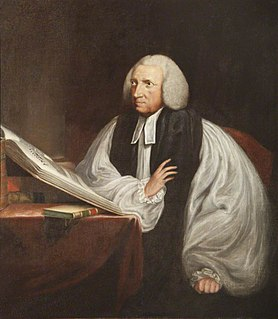 Robert Lowth Bishop of St Davids; Bishop of Oxford; Bishop of London
