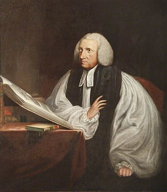 Oxford Professor of Poetry - Image: Robert Lowth, after RE Pine