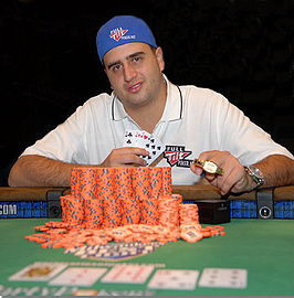 Mizrachi tijdens de World Series of Poker 2007