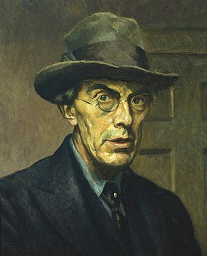 Roger Fry - 1928 self-portrait