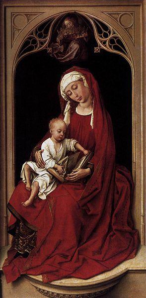 File:Rogier van der Weyden - Virgin and Child (Durán Madonna) - WGA25715.jpg