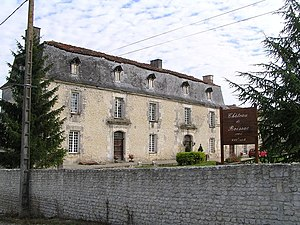 Angeac-Champagne - The Chateau de Roissac