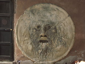 Bocca della Verità - The Mouth of Truth.
