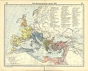 Roman Empire about 395