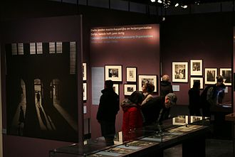 Joods Historisch Museum - The exhibition of Roman Vishniac's photos at Amsterdam Jewish Historical Museum, 2014.